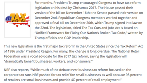 Tax Reform and Retail