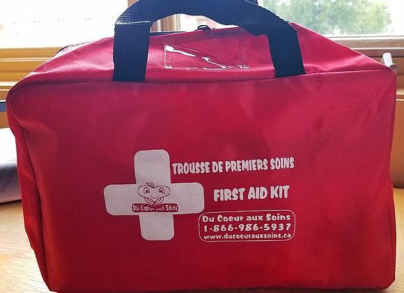 Trousse de premiers secours pour Garderies