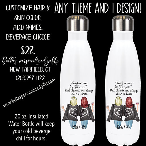 20 oz. Insulated Water Bottle