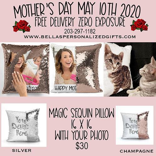 Magic Sequin Pillows