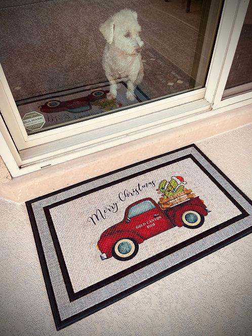 Holiday Indoor/Outdoor Mat
