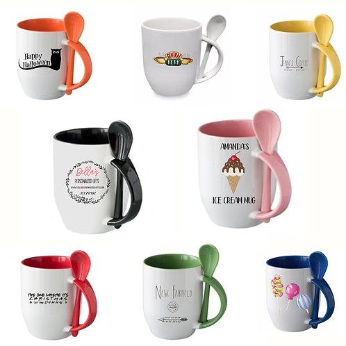 Spoon Mugs/ Sundae Mugs