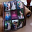 Thumbnail: 9 Panel Photo Fringed Photo Throw Blanket