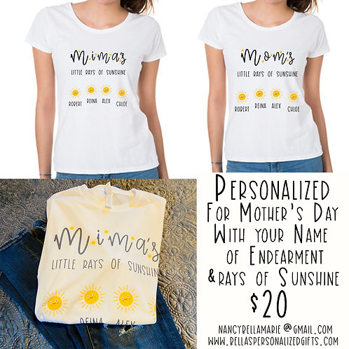 Little Rays of Sunshine T-Shirt
