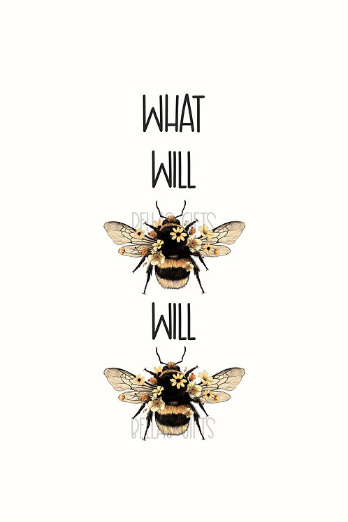 What Will Bee