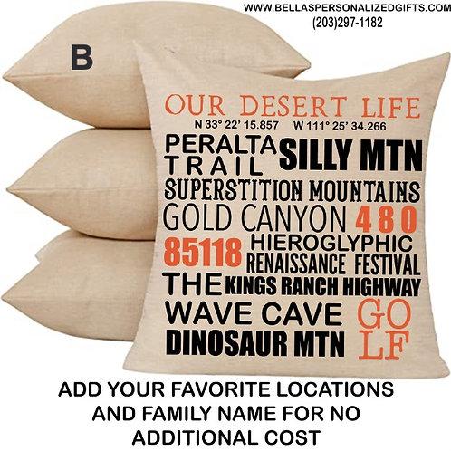 Coordinate Pillows