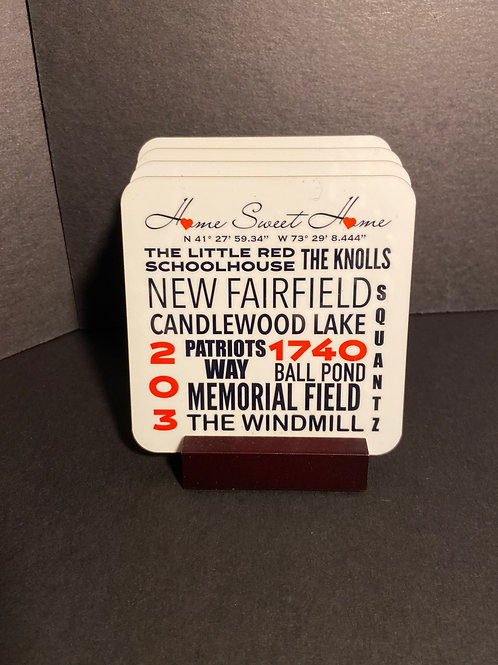 """""""Your Town"""" Coasters"""