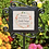 Thumbnail: Wrought Iron Garden Stake with Personalized Ceramic Tile