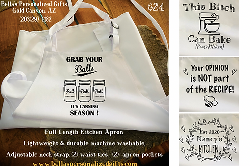 Apron's With Personality