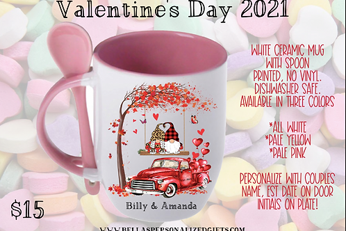 Valentine Day Spoon Mug