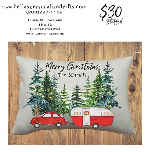 Holiday Lumbar Pillows
