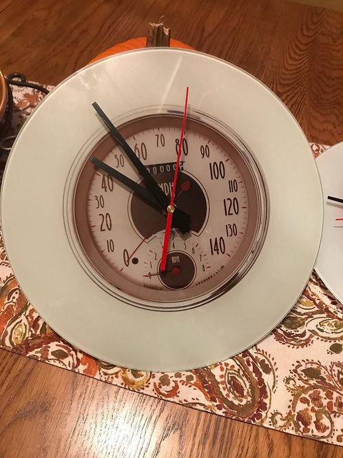 "12"" Glass (Smooth) Clock"