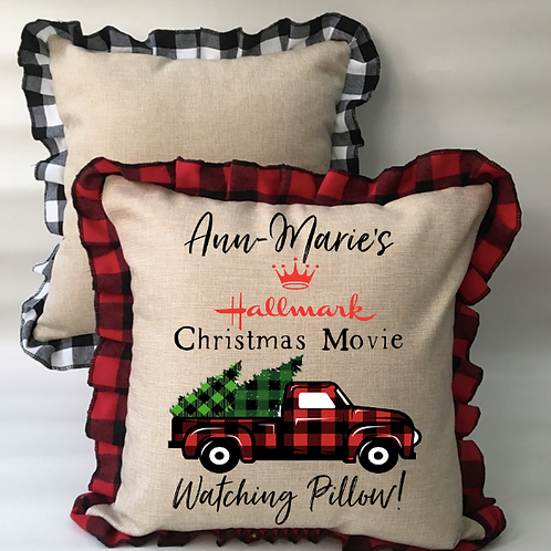 Hallmark Watching Pillow