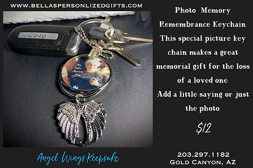 Angel Wings Key Chain