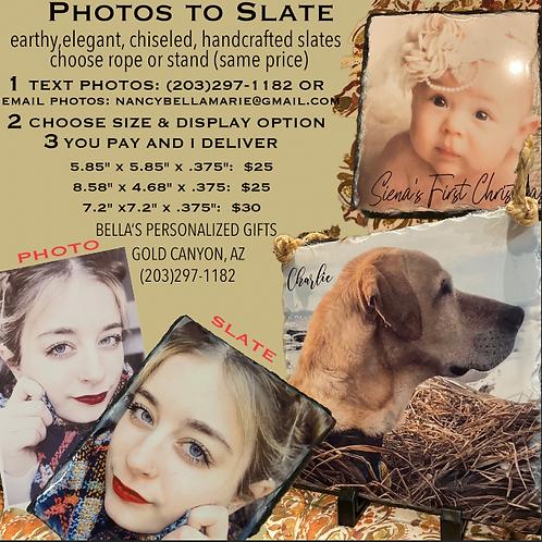 Photo to Slate