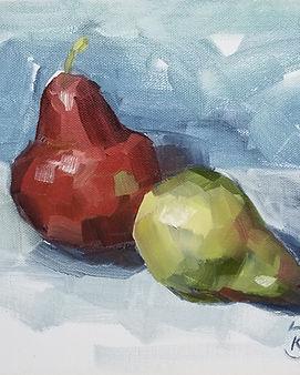 pear-still-life-painting
