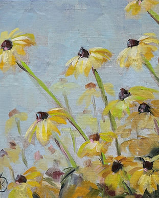 black-eyed-susan-southern-flower-painting
