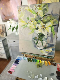 flower-painting-for-home-on-the-easel-original