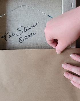 beautiful packaging by artist