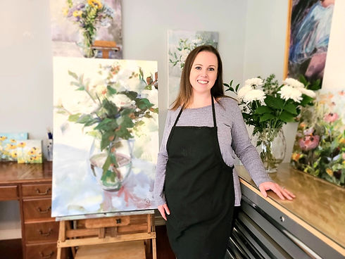 charlotte-nc-artist-kate-stewart-in-the-studio