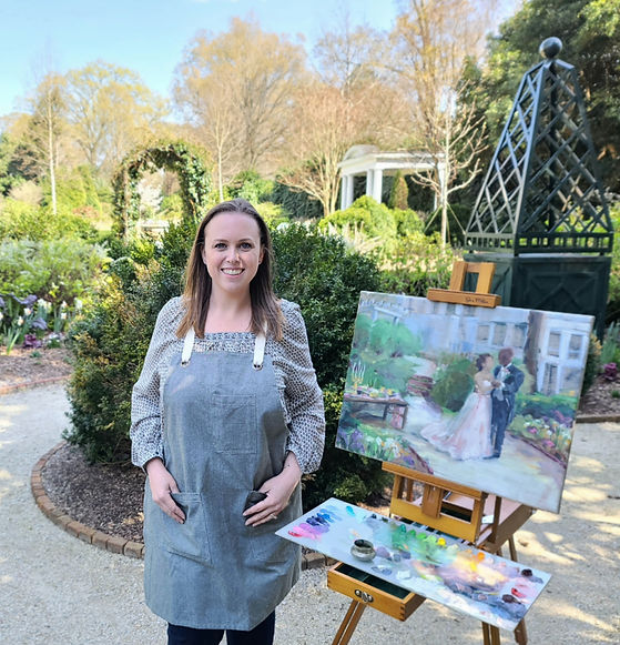 live-wedding-painting-at-duke-mansion