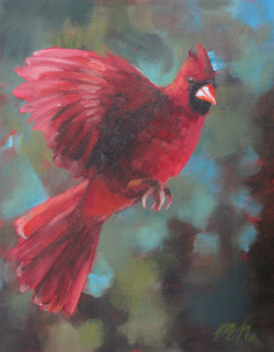 oil-painting-of-cardinal-by-charlotte-teen