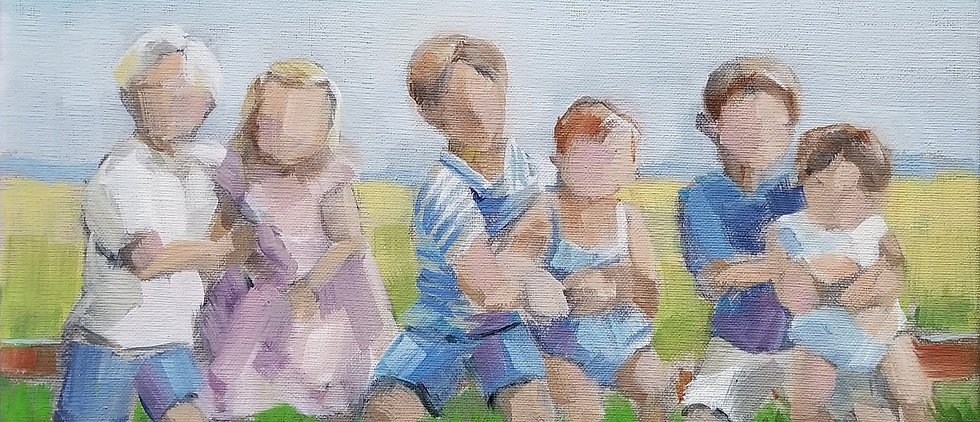 one-of-a-kind-painting-of-cousins-to-give-to-grandma