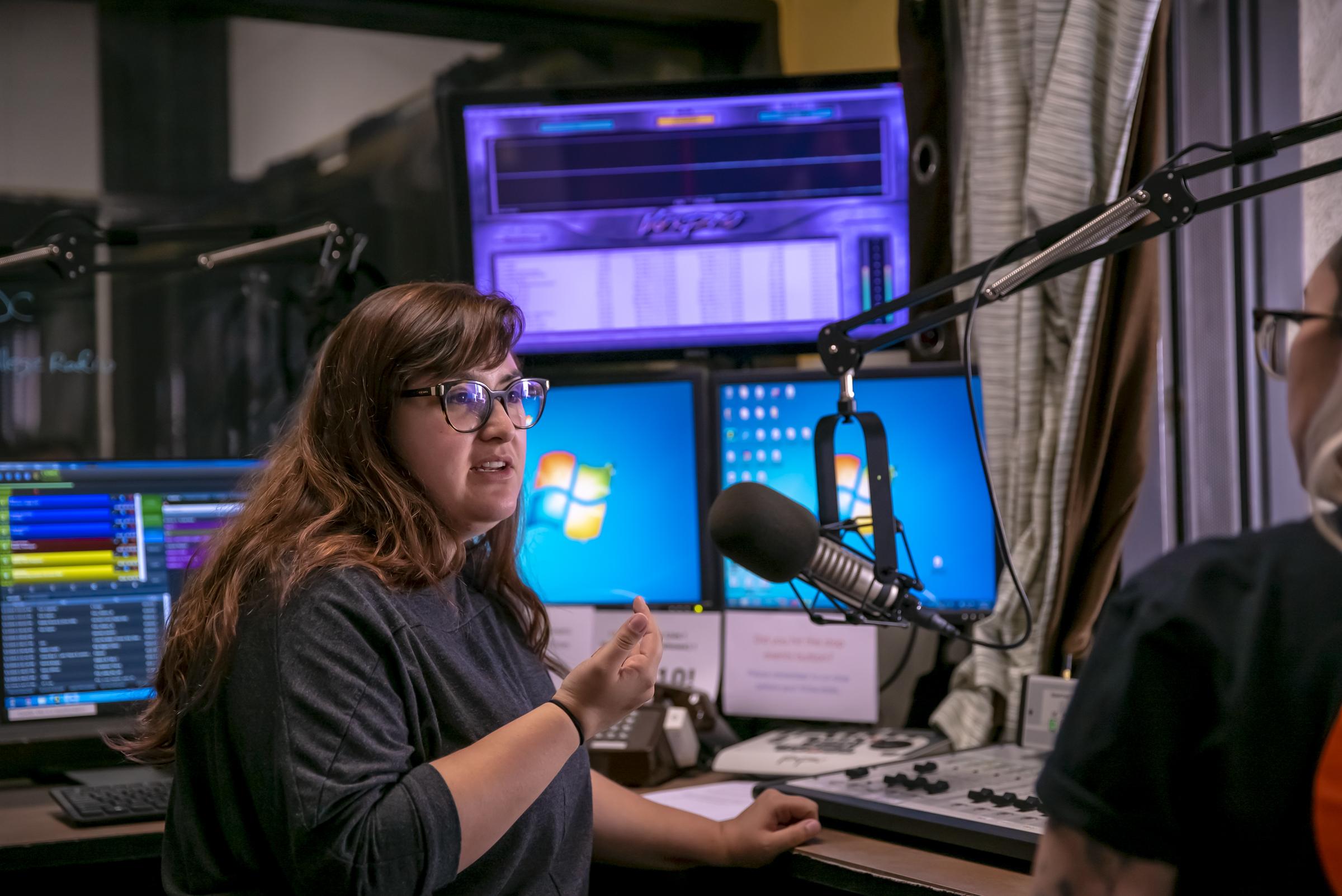 Stockton California Delta College Radio Television Broadcasting Voice