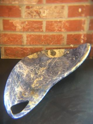 Pattern Seeker / Blue Sodolite Stone / $4,000