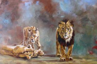 Three Lions (SOLD)