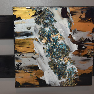 Andie Felts Untitled Acrylic Mixed Mediu