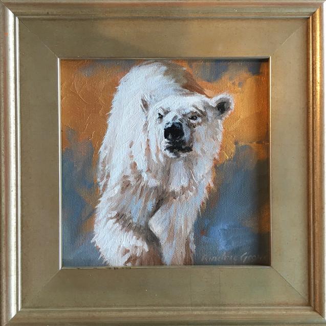 Golden Creatures: Polar Bear II (SOLD)
