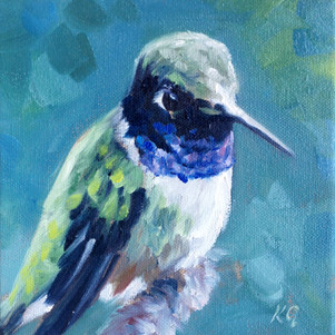 Black-Chinned (SOLD) Prints Available