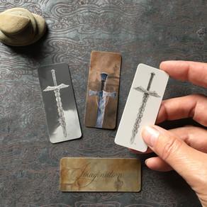 Mini Sword Bookmarks!