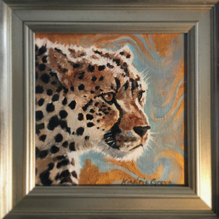 Golden Creatures: Spotted One, Cheetah (SOLD)