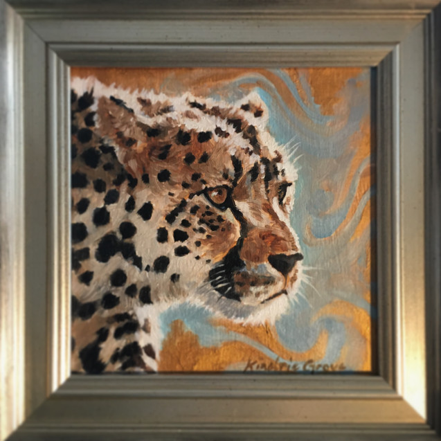 Golden Ceatures: Spotted One, Cheetah (SOLD)