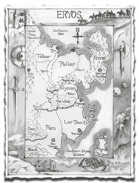 Map of Eryos, Deckle Edge