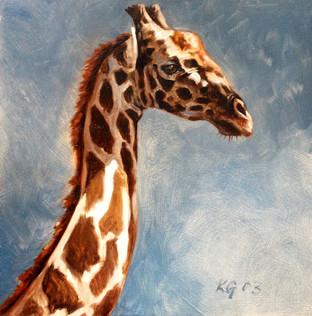 Giraffe Study VI (SOLD)