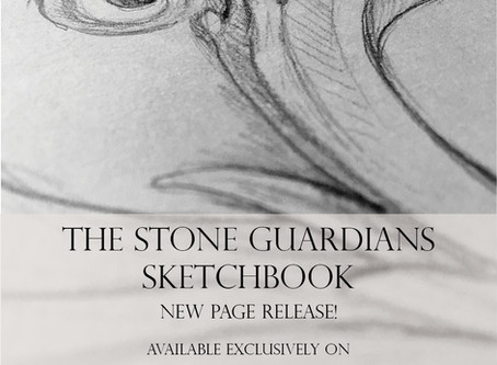 Bonus Patreon Sketchbook Page for November