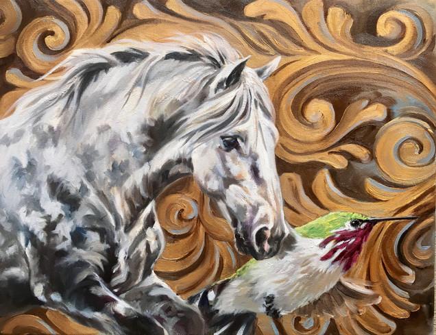 Golden Creatures: Wings of Pegasus I
