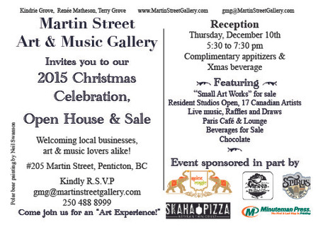 Christmas Celebration, Open House and Sale!