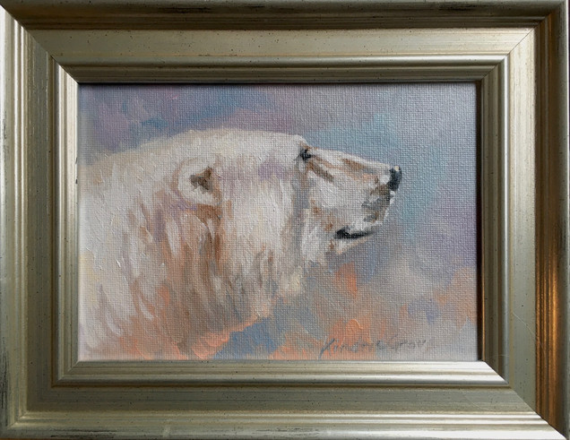 Arctic Light: Polar Bear (SOLD)