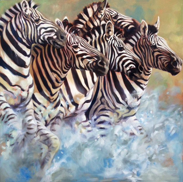 Sea of Stripes, Life-sized (SOLD)