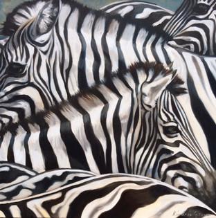 Sea of Stripes I (SOLD)