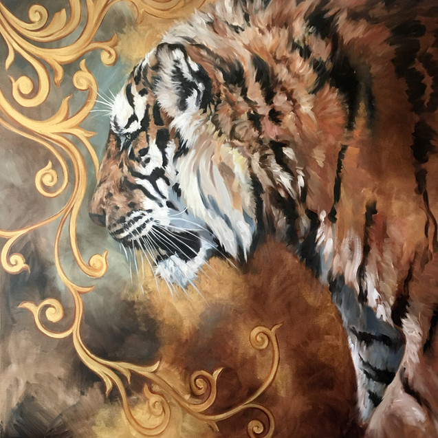 Golden Creatures: Siberian Tiger