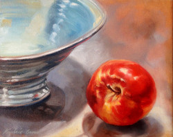 Apple and Bowl