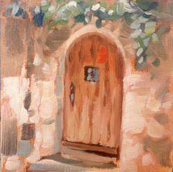 Medieval Door II (SOLD)