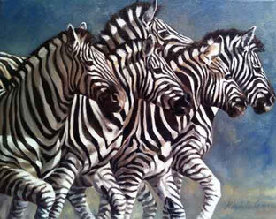 Tangle of Stripes (SOLD)