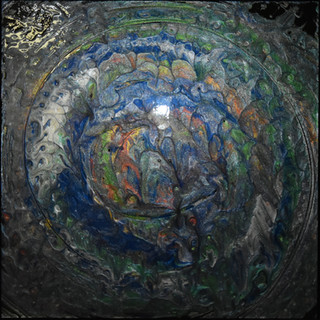 Andie Felts Ancient Treasure Acrylic Mix