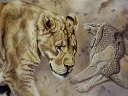Ancient Tableau, Lioness